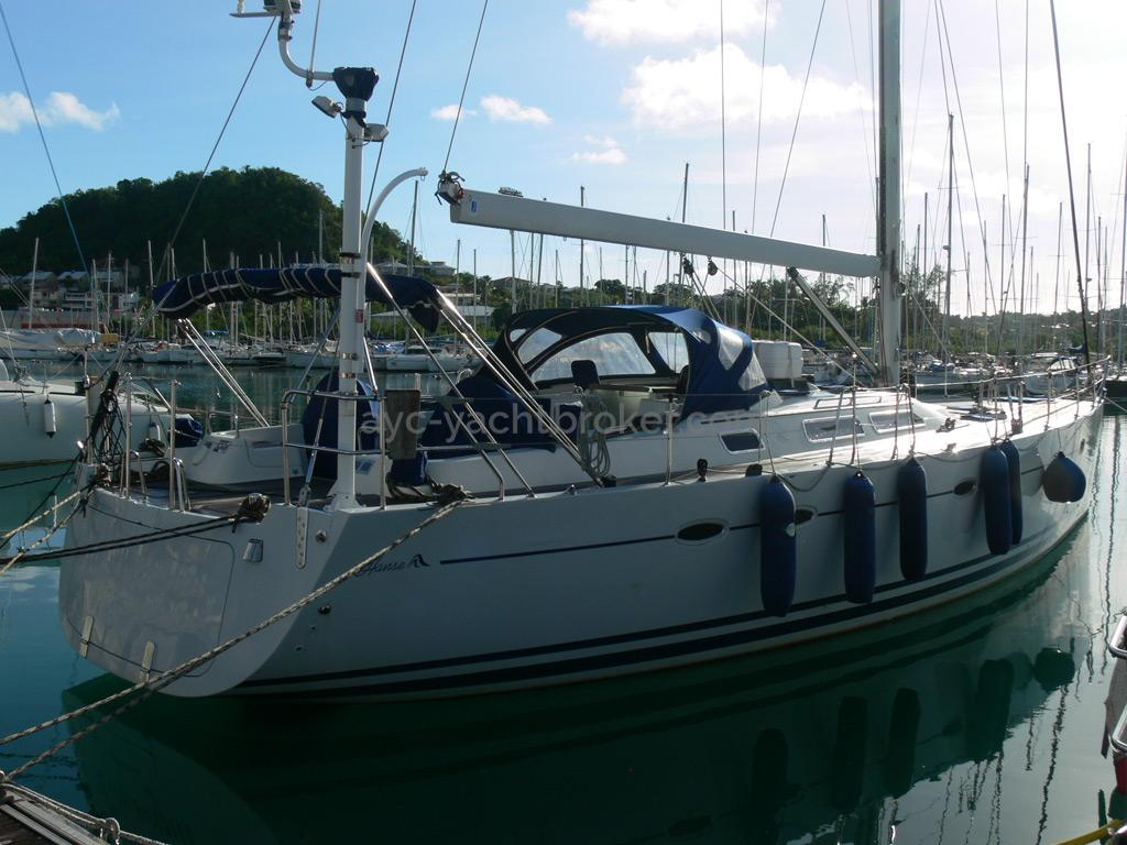 Hanse 531 - Au port