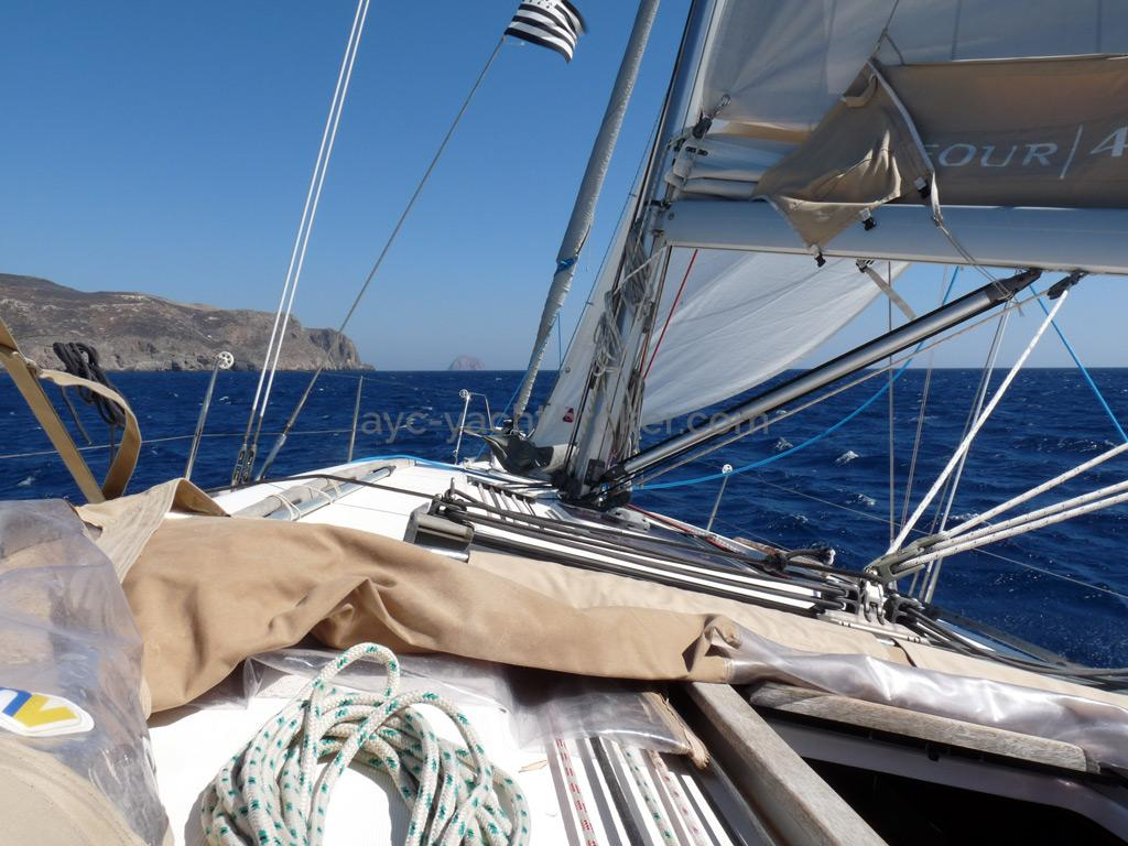 AYC Yachtbroker - Dufour 405 Grand Large - Sous voiles