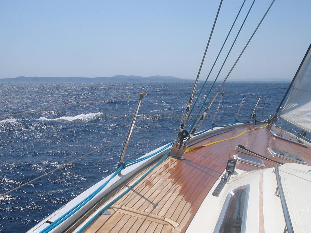 Hanse 531 - En navigation
