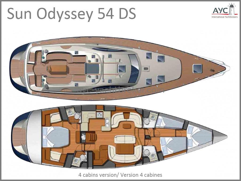 AYC - SUN ODYSSEY 54 DS