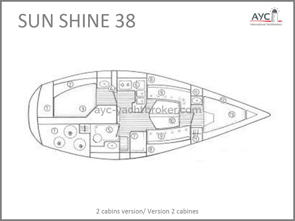 Sun Shine 38 - plan