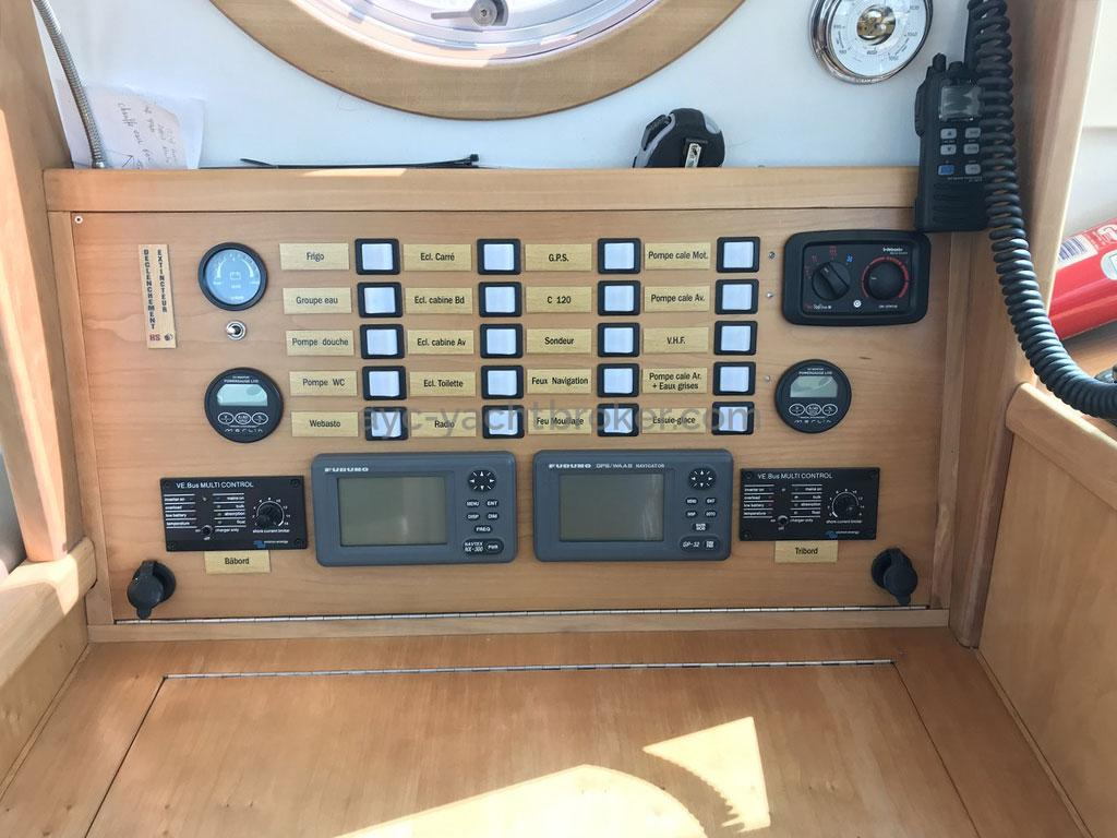 AYC Yachtbroker - Trawler Meta King Atlantique - Panneau électrique