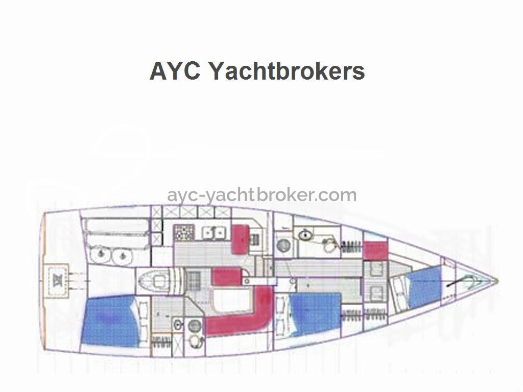 AYC Yachtbrokers - PLAN LOMBARD 45 DS