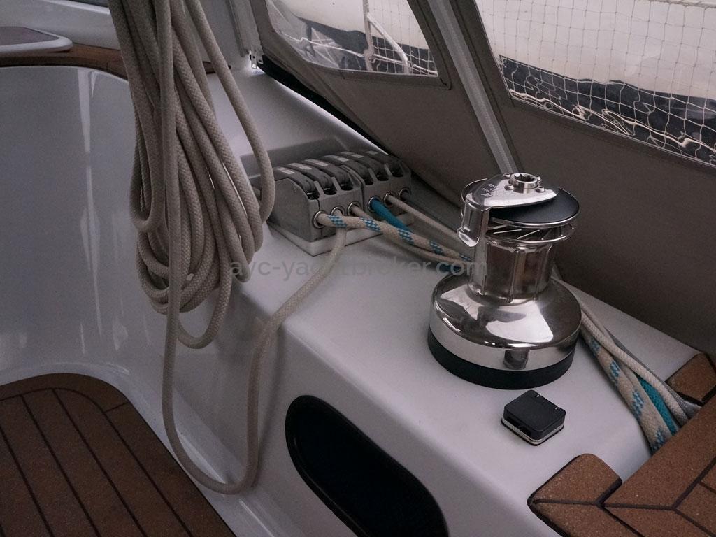 Alliage 48 CC - Winch électrique bâbord