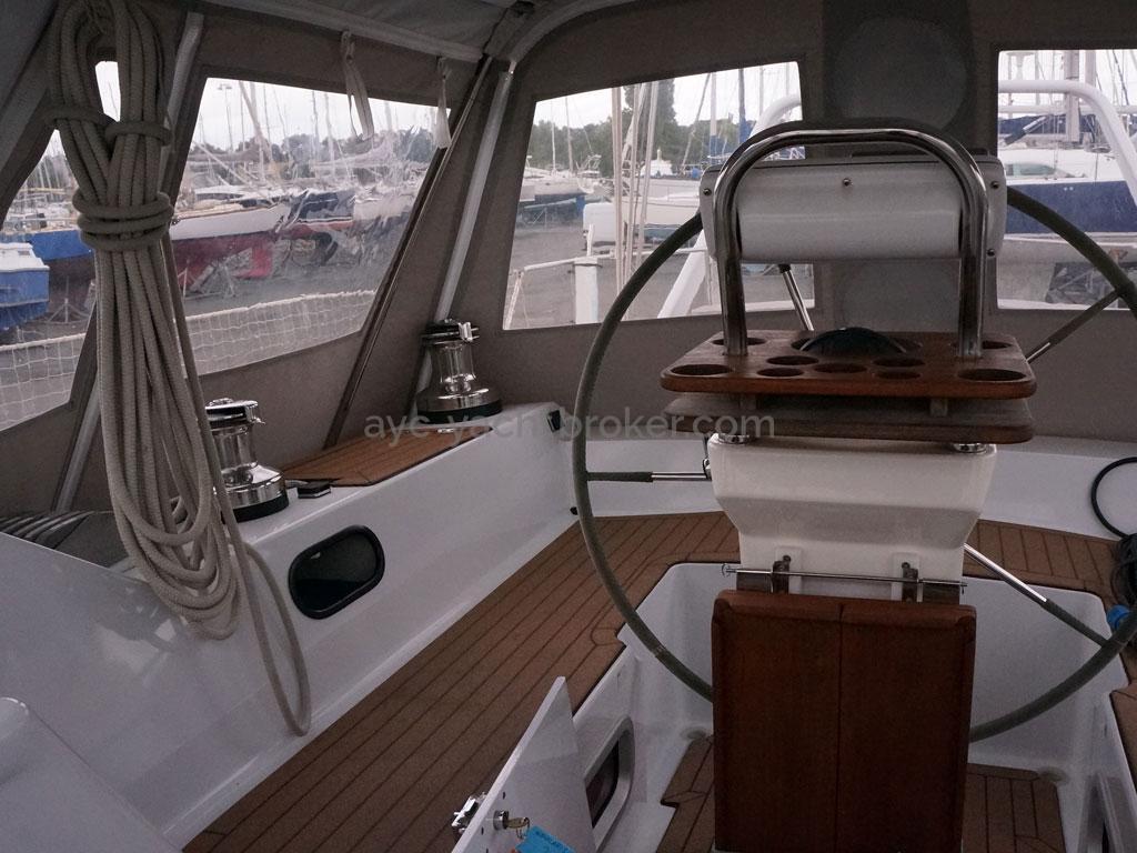 Alliage 48 CC - Cockpit