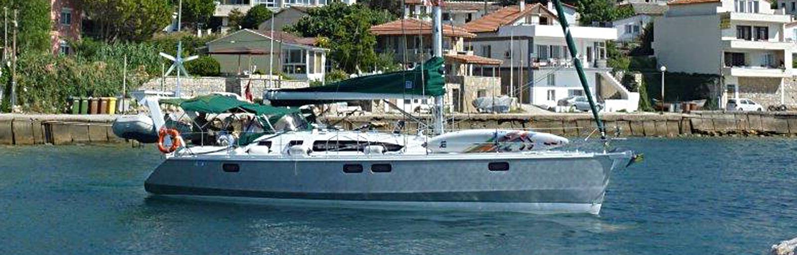 OVNI 395 dériveur intégral aluminium alu