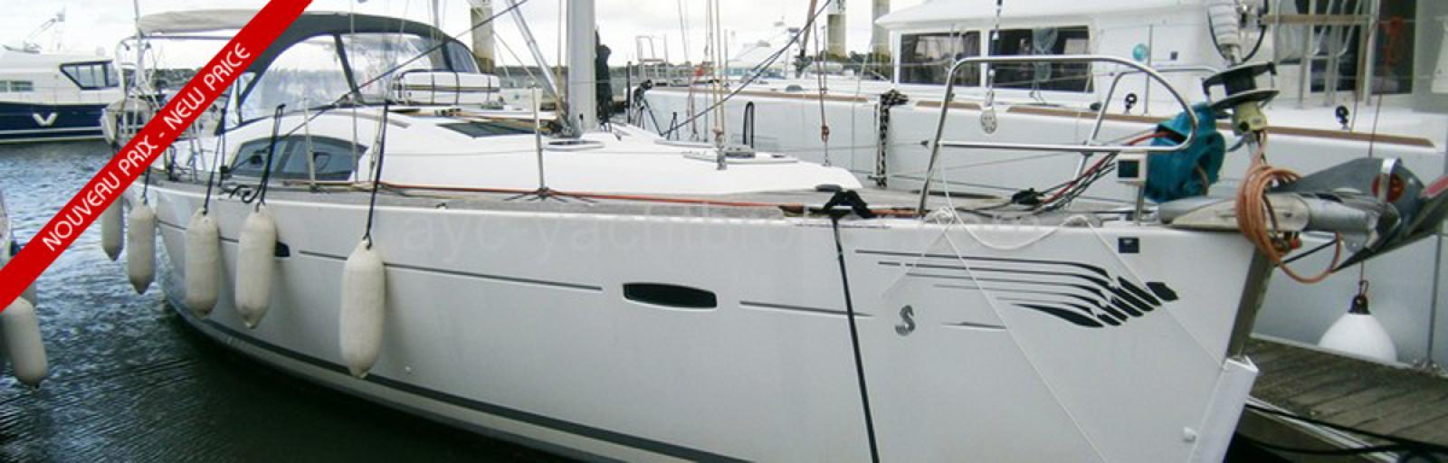 Oceanis 43 version propriétaire équipé pour voyager