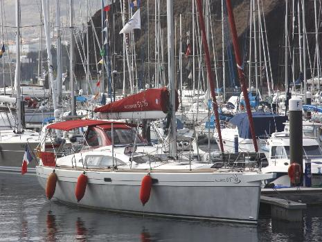 voilier de voyage aluminium deriveur integral  Allures 51